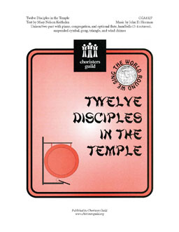 Twelve Disciples in the Temple