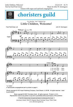 Little Children, Welcome
