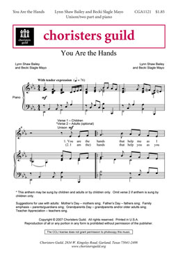 You Are the Hands