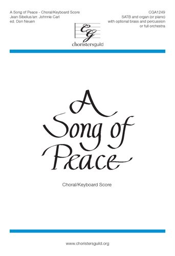 A Song of Peace Choral and Organ Score