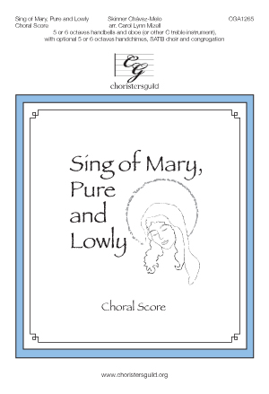 Sing of Mary, Pure and Lowly (Choral Score)
