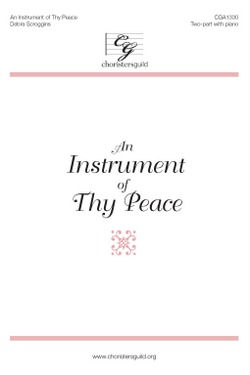 An Instrument of Thy Peace (treble)