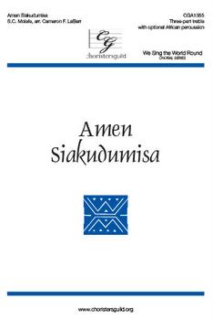 Amen Siakudumisa (treble version)