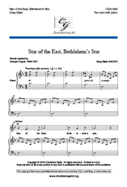 Star of the East, Bethlehem's Star