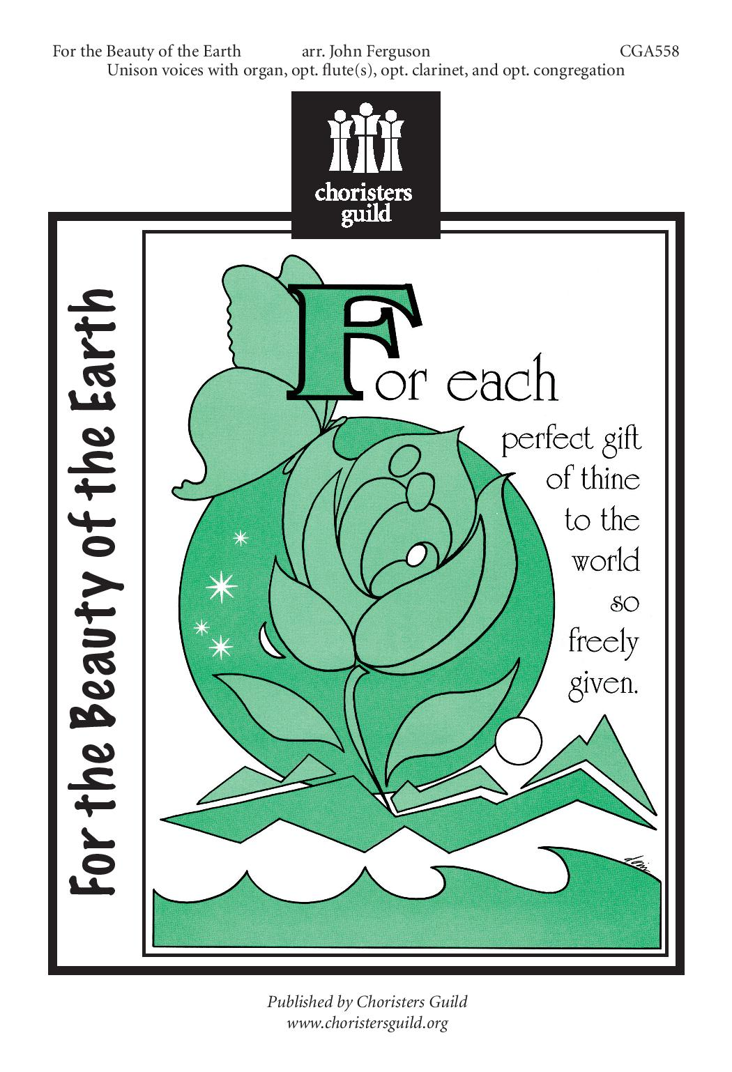 For the Beauty of the Earth arr Ferguson