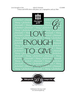 Love Enough to Give