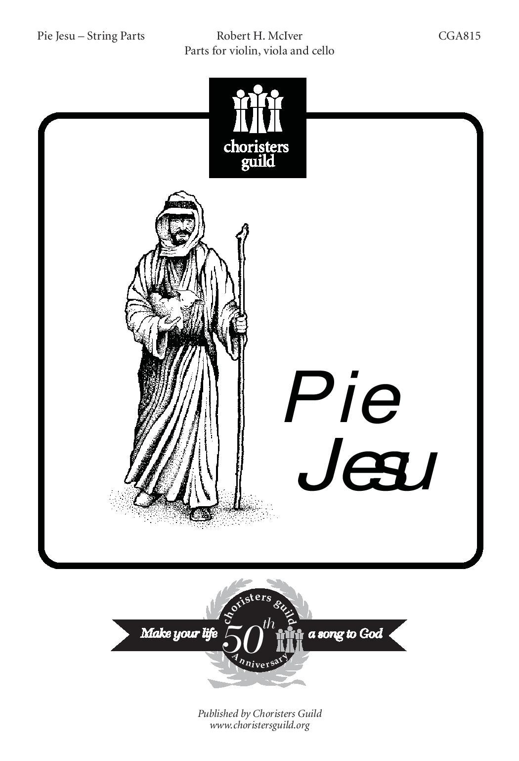Pie Jesu String Parts