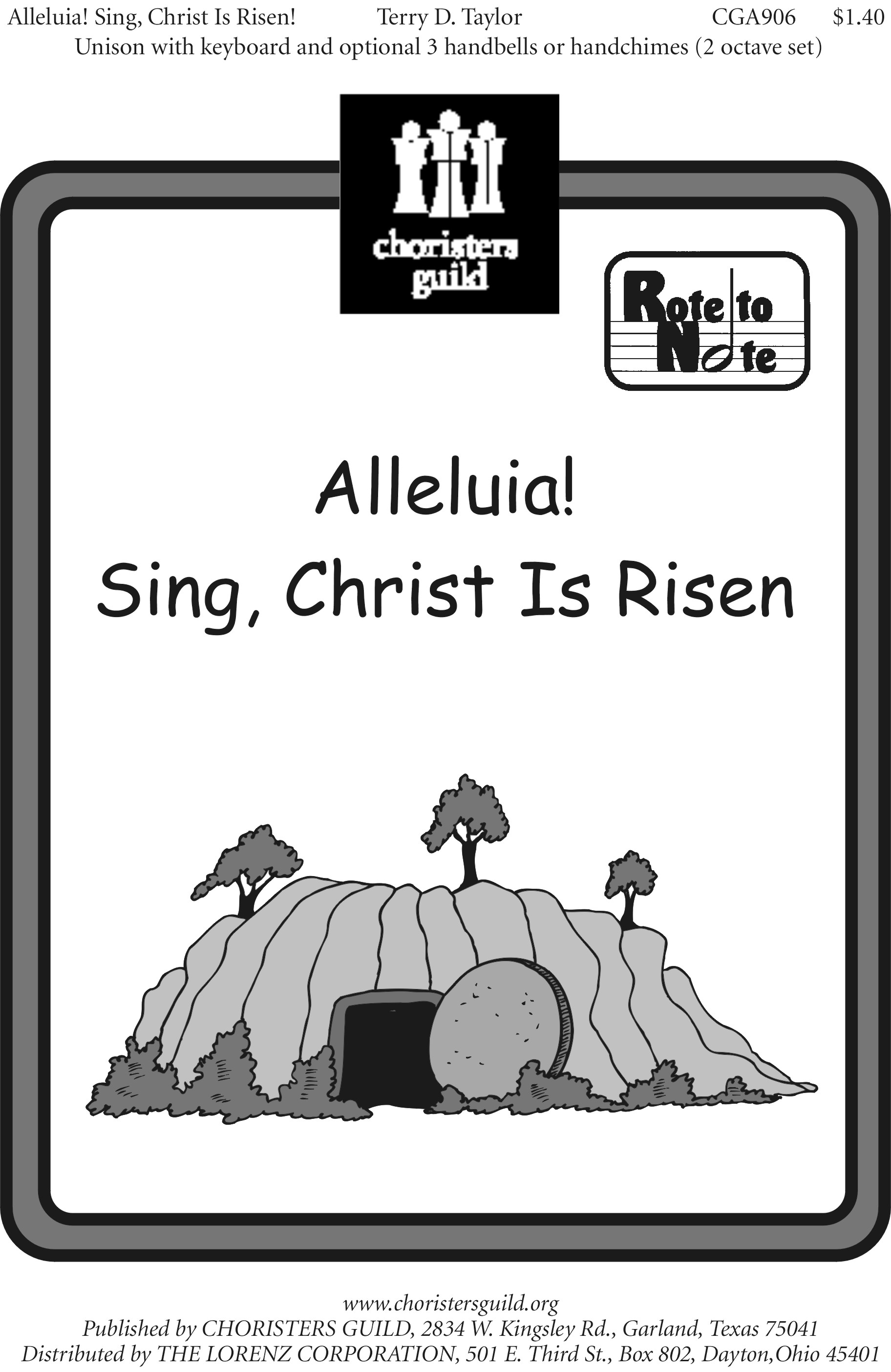 Alleluia! Sing, Christ Is Risen