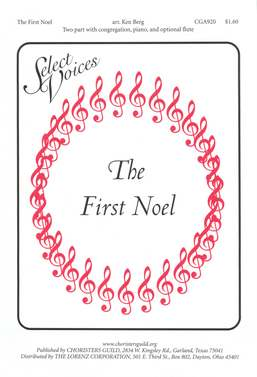 The First Noel (arr. Berg)