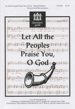 Let All the Peoples Praise You, O God