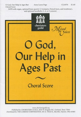 O God, Our Help in Ages Past  Choral Score