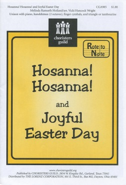 Hosanna Hosanna And Joyful Easter Day