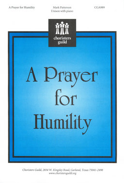 A Prayer for Humility (Unison)
