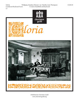 Gloria From the 12th Mass (Full Keyboard Score) Sample PDF