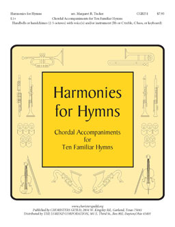 Harmonies for Hymns (Chordal Accompaniments for Ten Familiar Hymn