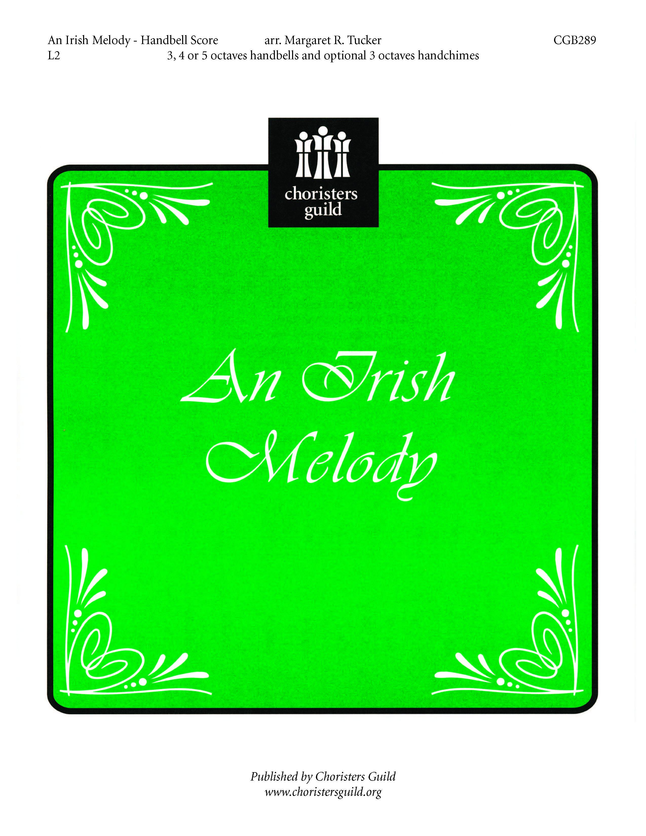 An Irish Melody (Handbell Score)