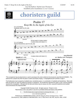 Psalm 17 (Handbell Score)