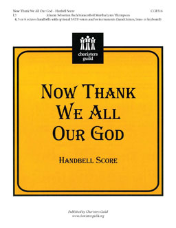 Now Thank We All Our God (Handbell Score)