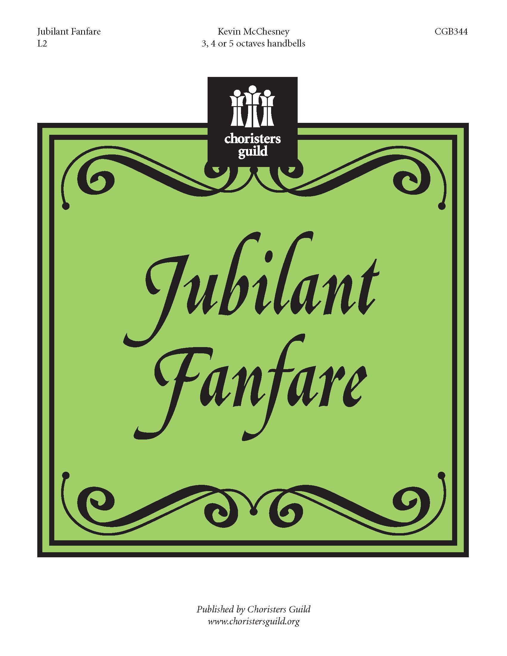 Jubilant Fanfare (3, 4 or 5 octaves)