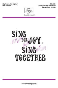 Sing for Joy, Sing Together