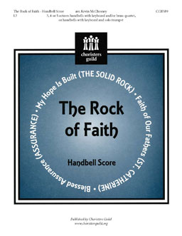 The Rock of Faith (Handbell Score)