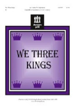 We Three Kings 3, 4 or 5 octaves