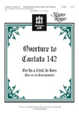 Overture to Cantata 142 (For Us a Child is Born)