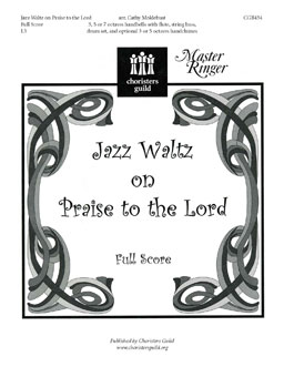 Jazz Waltz on Praise to the Lord (Full Score)