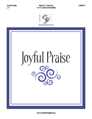 Joyful Praise (4-5 octaves)
