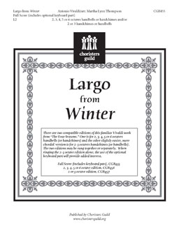 Largo from Winter (Full Score)