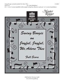 Swing Boogie on Joyful, Joyful, We Adore Thee (Full Score)