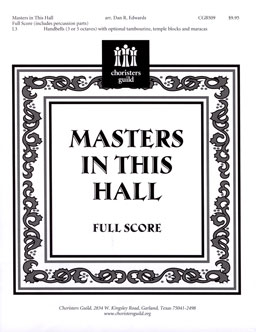 Masters in this Hall (Full Score)