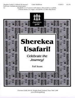 Sherekea Usafari (Celebrate the Journey) (Full Score)