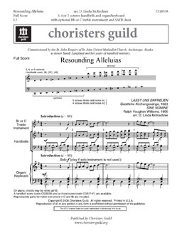Resounding Alleluias (Full Score)