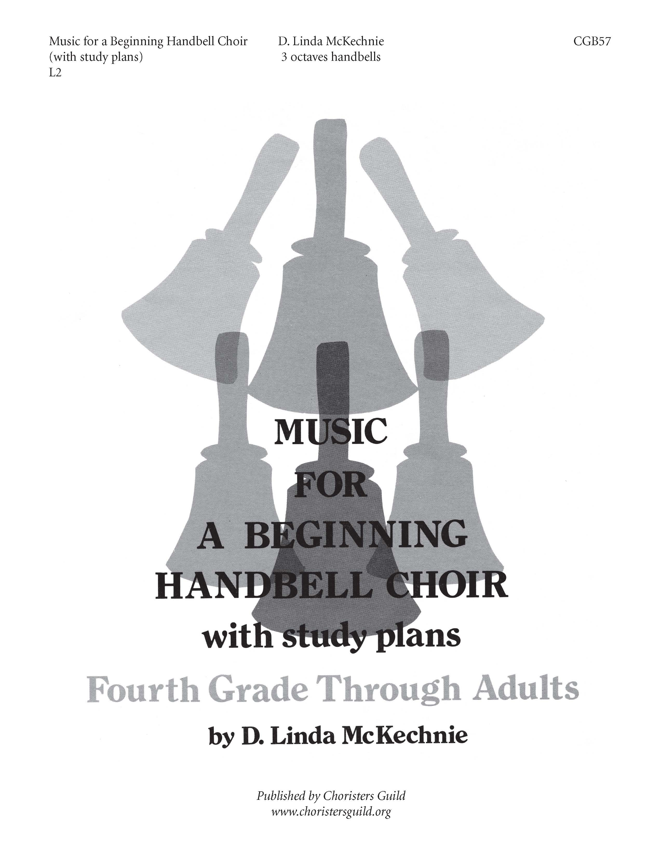 Music for a Beginning Handbell Choir with Study Plans