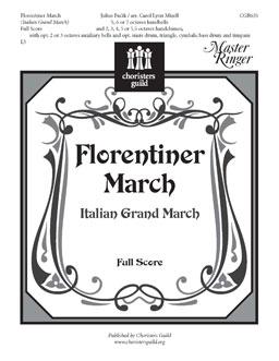 Florentiner March - Full Score