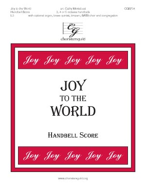 Joy to the World - Handbell Score
