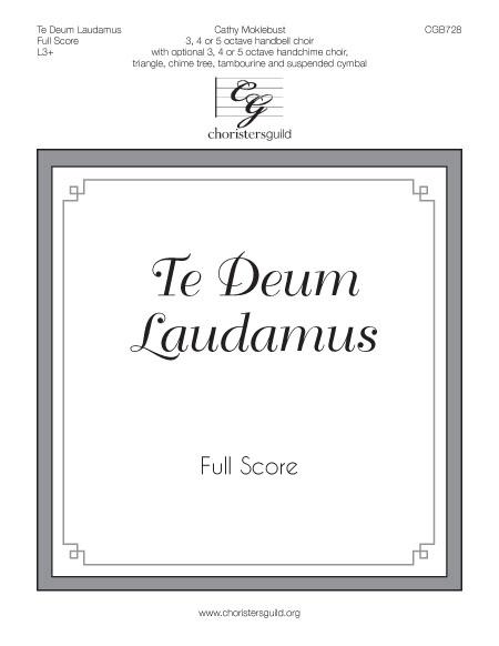 Te Deum Laudamus - Full Score