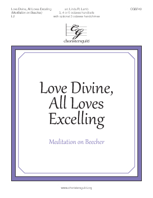 Love Divine, All Loves Excelling (Meditation on Beecher)