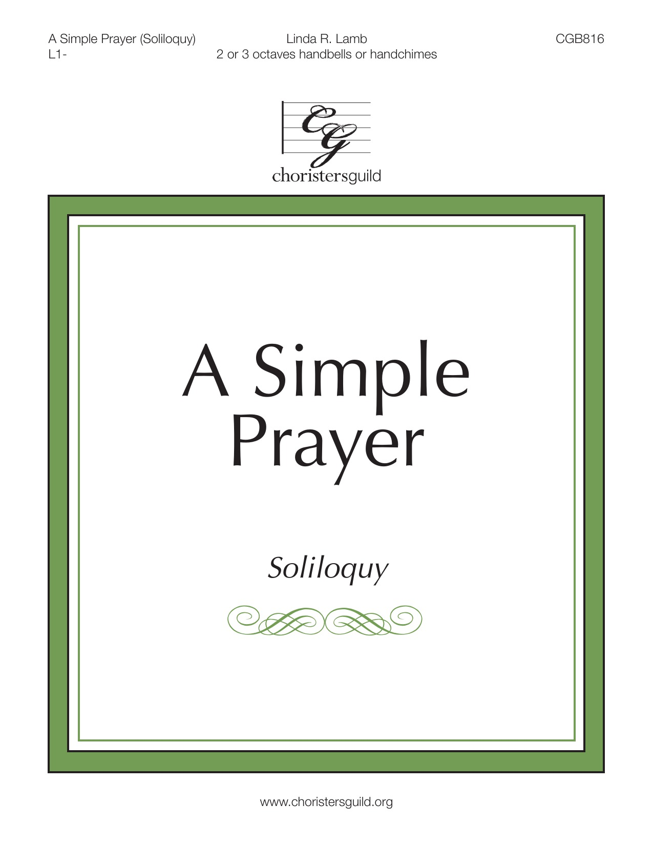 A Simple Prayer (Soliloquy)