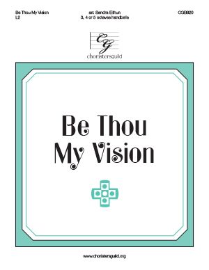 Be Thou My Vision (3, 4 or 5 octaves)