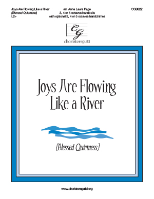 Joys Are Flowing Like a River (Blessed Quietness)