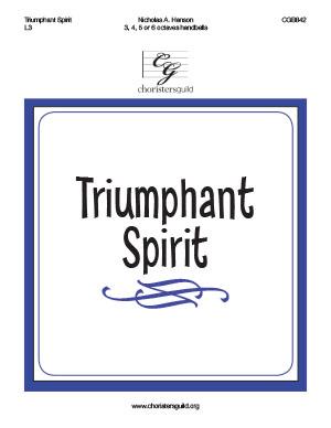 Triumphant Spirit (3, 4, 5 or 6 octaves)