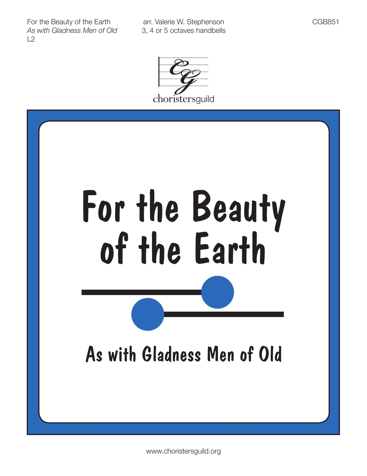 For the Beauty of the Earth (As with Gladness Men of Old)
