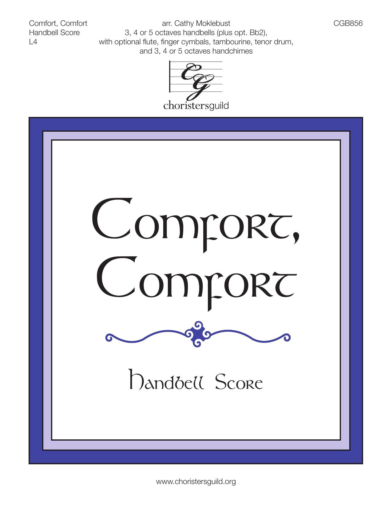 Comfort, Comfort - Handbell Score