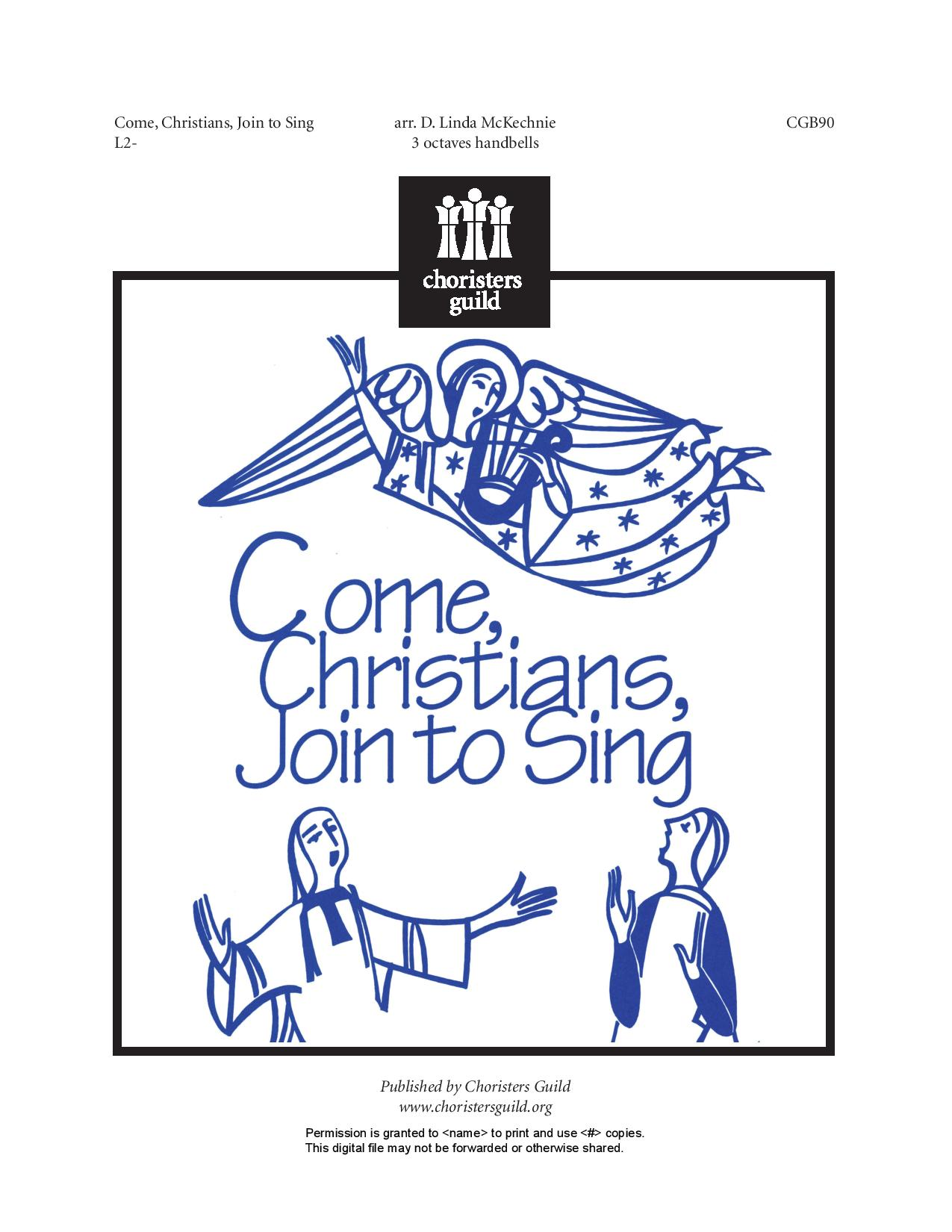 Come, Christians, Join to Sing (Handbells)