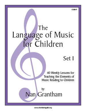 The Language of Music for Children Set I Book