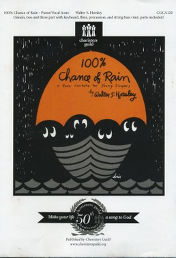 100 Percent Chance of Rain Demonstration CD