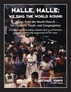 Halle, Halle We Sing the World Round Demonstration CD