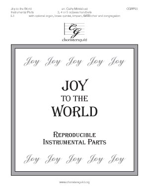 Joy to the World - Reproducible Instrumental Parts